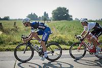 Tom Boonen (BEL/Etixx-QuickStep) & Jasper Stuyven (BEL/Trek-Segafredo)<br /> <br /> 12th Eneco Tour 2016 (UCI World Tour)<br /> stage 3: Blankenberge-Ardooie (182km)