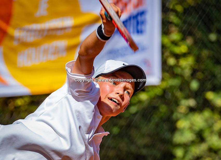 Hilversum, Netherlands, August 6, 2018, National Junior Championships, NJK, <br /> Photo: Tennisimages/Henk Koster