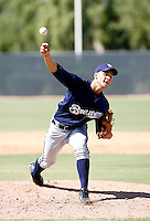 Nicholas Bucci / Milwaukee Brewers 2008 Instructional League..Photo by:  Bill Mitchell/Four Seam Images
