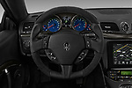 Car pictures of steering wheel view of a 2018 Maserati GranTurismo Sport 2 Door Coupe