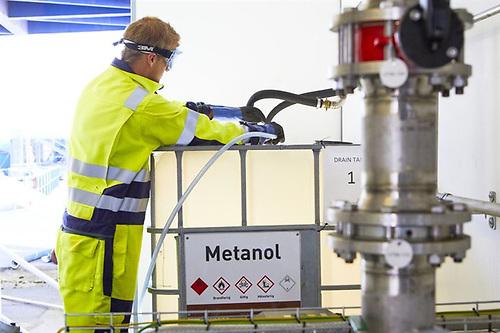 Stena Germanica tanking metanol
