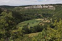 Europe/France/Midi-Pyrénées/46/Lot/Espagnac-Sainte-Eulalie: La vallée du Célé
