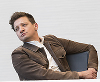 """Jeremy Renner, who stars in 'Avengers: Endgame"""", at the InterContinental Hotel in Los Angeles. Credit: Magnus Sundholm/Action Press/MediaPunch ***FOR USA ONLY***"""
