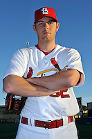 Mar 01, 2010; Jupiter, FL, USA; St. Louis Cardinals pitcher P.J. Walters (62) during  photoday at Roger Dean Stadium. Mandatory Credit: Tomasso De Rosa/ Four Seam Images