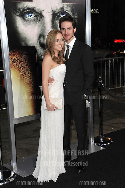 """Colin O'Donoghue & date at the world premiere of his new movie """"The Rite"""" at Grauman's Chinese Theatre, Hollywood..January 26, 2011  Los Angeles, CA.Picture: Paul Smith / Featureflash"""