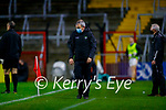 Kerry Manager Peter Keane during the Munster GAA Football Senior Championship Semi-Final match between Cork and Kerry at Páirc Uí Chaoimh in Cork.
