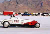 Speed Week Bonneville Salt Flats #291 C/BGMR 1927 Ford Roadster