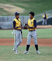 Eduardo Garcia (left), Jesus Parra (right) - 2021 Arizona League Brewers (Bill Mitchell)