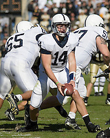 28 October 2006: Penn State quarterback Anthony Morelli (14)..The Penn State Nittany Lions defeated the Purdue Boilermakers 12-0 on October 28, 2006 at Ross-Ade Stadium, West Lafayette, Indiana.
