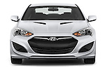 Straight front view of a 2013 Hyundai Genesis Coupe 2.0T
