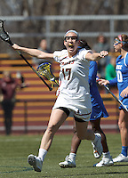 Boston College Women's LAX vs. Duke University, April 6, 2013