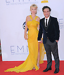 Kelli Garner and Johnny Galecki at The 64th Anual Primetime Emmy Awards held at Nokia Theatre L.A. Live in Los Angeles, California on September  23,2012                                                                   Copyright 2012 Hollywood Press Agency