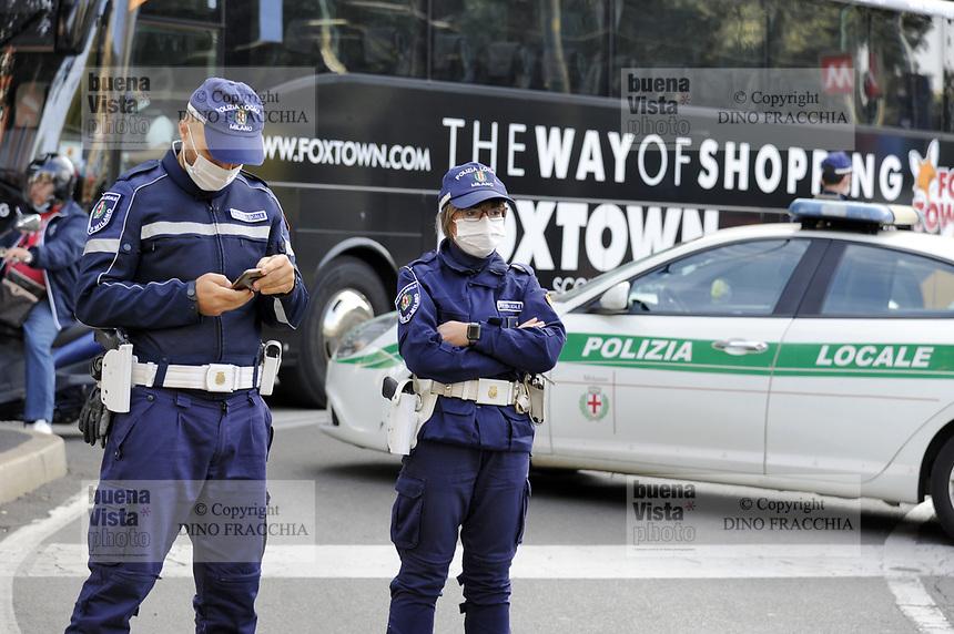 - Milan, local police<br /> <br /> - Milano, polizia locale