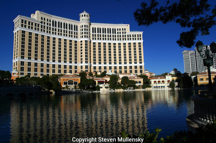Bellagio Hotel in Las Vegas. The grand opening was in October of 1998 and is a wholly owned subsidiary of MGM MIRAGE? (NYSE: MGM)