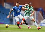 02.05.2021 Rangers v Celtic: James Tavernier and Mohamed Elyounoussi