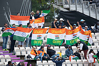 Plenty of Indian support again on day 3 during India vs New Zealand, ICC World Test Championship Final Cricket at The Hampshire Bowl on 20th June 2021