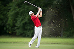 Matt Ford of England hits the ball during Hong Kong Open golf tournament at the Fanling golf course on 25 October 2015 in Hong Kong, China. Photo by Aitor Alcade / Power Sport Images