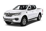 2018 Renault Alaskan Foraker 4 Door Pick Up angular front stock photos of front three quarter view