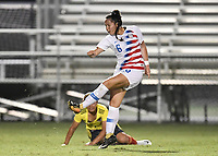 Lakewood Ranch, FL - Wednesday, October 10, 2018:   Sunshine Fontes during a U-17 USWNT match against Colombia.  The U-17 USWNT defeated Colombia 4-1.
