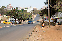 Dakar, Senegal.  Public Transport, Municipal Buses.