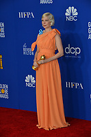 LOS ANGELES, USA. January 05, 2020: Michelle Williams in the press room at the 2020 Golden Globe Awards at the Beverly Hilton Hotel.<br /> Picture: Paul Smith/Featureflash