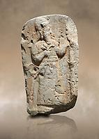 Hittite monumental relief sculpture of a lion. Late Hittite Period - 900-700 BC. Adana Archaeology Museum, Turkey.