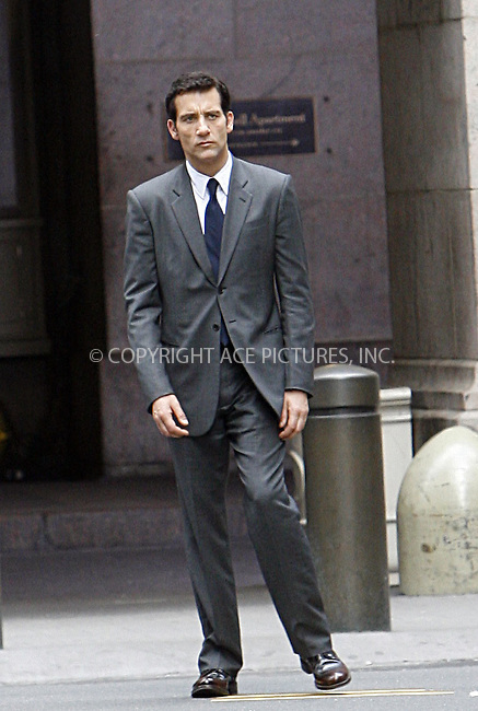 WWW.ACEPIXS.COM . . . . .  ....May 3 2008, New York City....Actor Clive Owen was on the set of the new movie 'Duplicity' near Grand Central Station in midtown Manhattan....Please byline: NANCY RIVERA - ACEPIXS.COM.... *** ***..Ace Pictures, Inc:  ..te: (646) 769 0430..e-mail: info@acepixs.com..web: http://www.acepixs.com