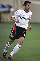 4 June 2005:  Dema Kovalenko of DC United in action against Earthquakes at Spartan Stadium in San Jose, California.  Earthquakes tied DC United, 0-0.  Credit: Michael Pimentel / ISI