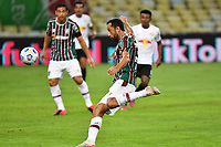 2nd June 2021; Maracana Stadium, Rio de Janeiro, Brazil; Copa do Brazil, Fluminense versus Red Bull Bragantino; Nenê of Fluminense hist a volleyed shot