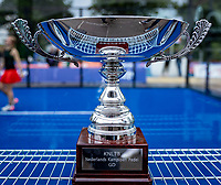 Rosmalen, Netherlands, 15 June, 2019, Tennis, Libema Open, NK Final Padel Mixed: Trophy<br /> Photo: Henk Koster/tennisimages.com