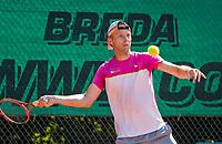 Etten-Leur, The Netherlands, August 27, 2017,  TC Etten, NVK, Dennis Bank (NED)<br /> Photo: Tennisimages/Henk Koster