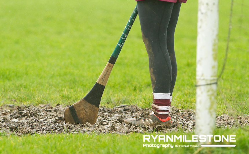 Irish Daily Star Camogie League Division One<br /> Tipperary v Galway<br /> General View of the goalmouth conditions