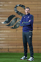 Swansea City FC manager Paul Clement at the Fairwood Training Ground, Wales, UK. Friday 27 January 2017