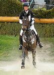 April 25, 2015:  #82 Bay My Hero and William Fox-Pitt finish in 4th place on the Cross Country course during the Rolex Three Day Event at the Kentucky Horse Park in Lexington, KY.  Candice Chavez/ESW/CSM