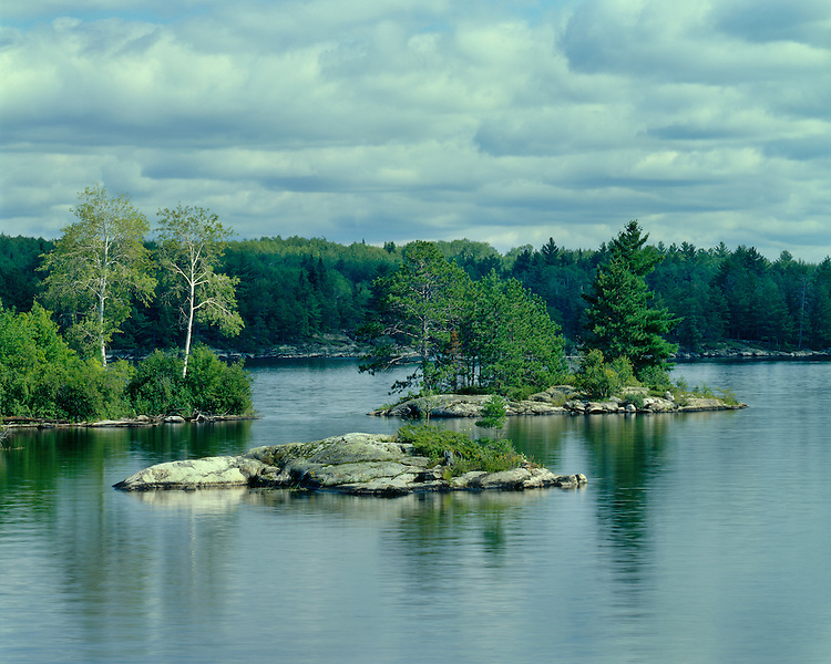 View from Wigwam Island on Namakan Lake; Voyageurs National Park, MN