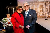 Italian Cultural & Community Center La Dolce Vita Luncheon honoring American-Italian designer, Victor Costa on October 12, 2021 at the River Oaks Country Club