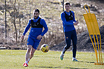 St Johnstone Training...19.03.21<br />Craig Conway pictured during training at McDiarmid Park ahead of tomorrows game against Ross County.<br />Picture by Graeme Hart.<br />Copyright Perthshire Picture Agency<br />Tel: 01738 623350  Mobile: 07990 594431