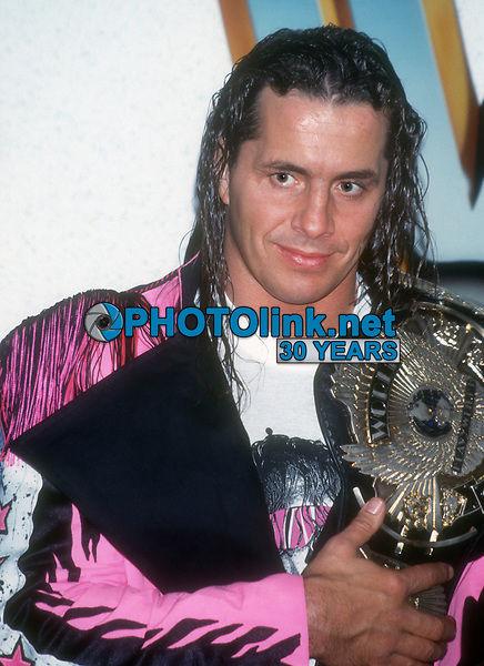 Bret Hart 1994, Photo By John Barrett/PHOTOlink