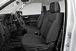 Front seat view of 2021 Chevrolet Silverado-1500 WT 2 Door Pick-up Front Seat  car photos