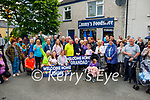 A big welcome home for Jimmy Moran, who is home to Strand Road, after three months spent in the hospital
