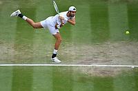 9th July 2021, Wimbledon, SW London, England; 2021 Wimbledon Championships, semi finals;  Matteo Berrettini Ita TENNIS