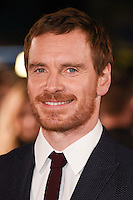 """Michael Fassbender<br /> at the premiere of """"The Light Between Oceans"""" at the Curzon Mayfair, London.<br /> <br /> <br /> ©Ash Knotek  D3184  19/10/2016"""