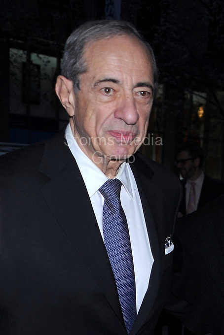NEW YORK, NY - APRIL 11: Mario Cuomo and Matilda Cuomo attend the New York Premiere of 'The Conspirator' at The Museum of Modern Art on April 11, 2011 in New York City<br /> <br /> People:  Mario Cuomo, Matilda Cuomo
