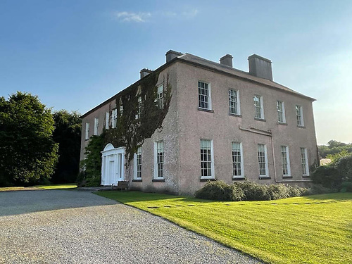 Enniscoe House in Co Mayo, the grounds of which border Lough Conn