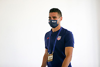 ST. GALLEN, SWITZERLAND - MAY 30: Sebastian Lletget #17 of the United States before a game between Switzerland and USMNT at Kybunpark on May 30, 2021 in St. Gallen, Switzerland.