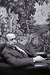 Leonardo Sciascia in Paris, 1978.