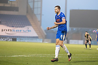Harry Pell, Colchester United celebrates the equalising goal for the hosts during Colchester United vs Marine, Emirates FA Cup Football at the JobServe Community Stadium on 7th November 2020
