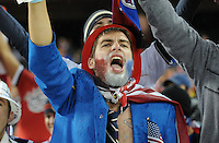 USA Fans.   The USMNT tied Costa Rica 2-2 on the final game of the 2010  FIFA World Cup Qualifying round at RFK Stadium,Wednesday  October 14 , 2009.