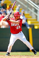 21 April 2007: University of Hartford Hawks' Chris Hebert, a Senior from South Hadley, MA, in action during a double-header against the University of Vermont Catamounts at Historic Centennial Field, in Burlington, Vermont...Mandatory Photo Credit: Ed Wolfstein Photo