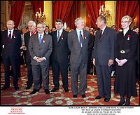 Remise des Legions D'HonneurAu Palais De L'Elysee Le President Jacques Chirac, Bernard Stasi, Claude Rich & Jean-Claude Brialy #